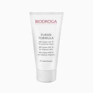 BB Cream SPF 15 for impure skin 01 sand/02 honey